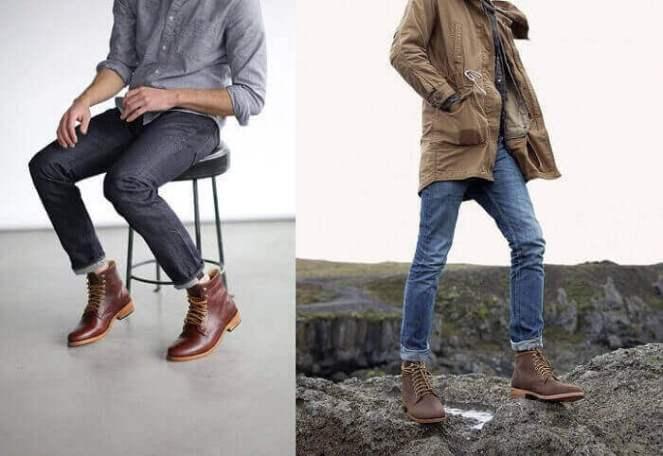 cách đi giày cao cổ nam